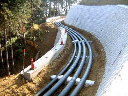 藁科第一配水場送配水管