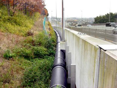 日野市上田地区雨水管