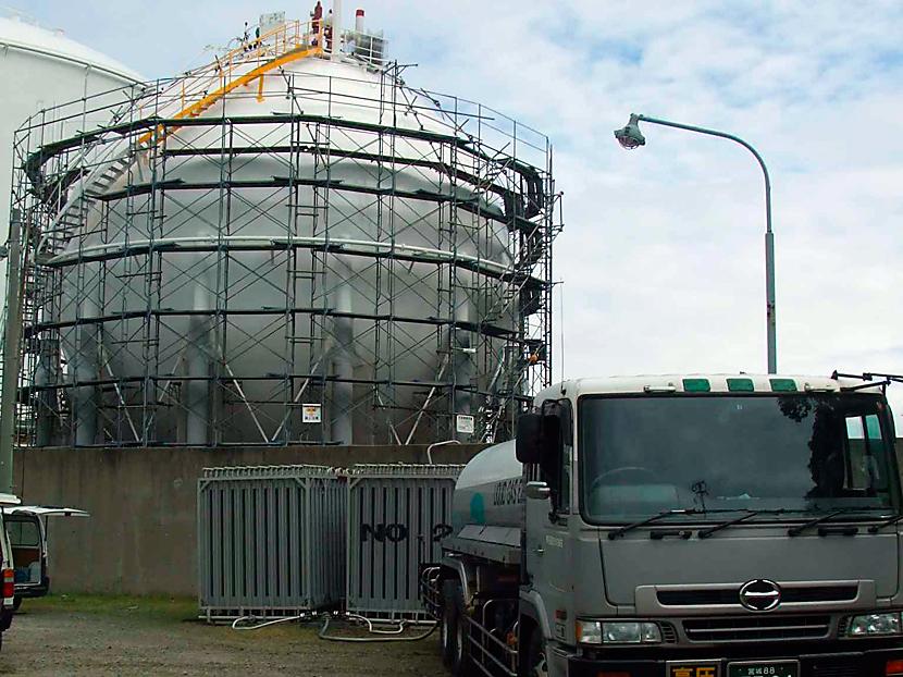 液化石油ガス貯蔵タンク © MESCO 三井金属エンジニアリング株式会社
