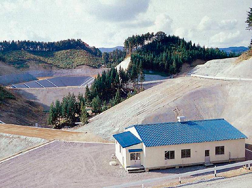 廃棄物最終処分場廃水処理設備 © MESCO 三井金属エンジニアリング株式会社