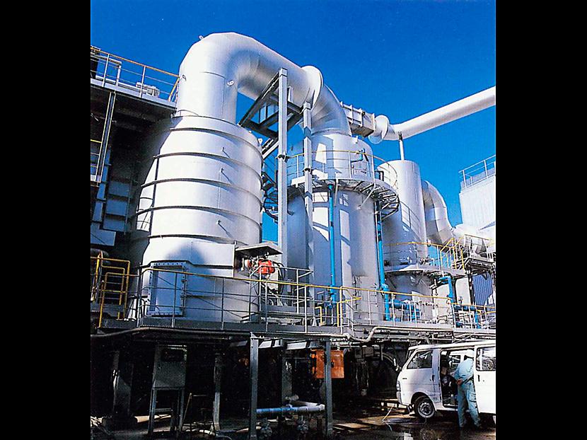 排ガスダイオキシン除去設備 © MESCO 三井金属エンジニアリング株式会社