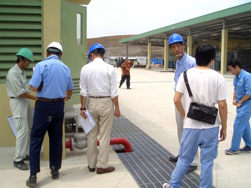 完成引渡(客先検査) © MESCO 三井金属エンジニアリング株式会社