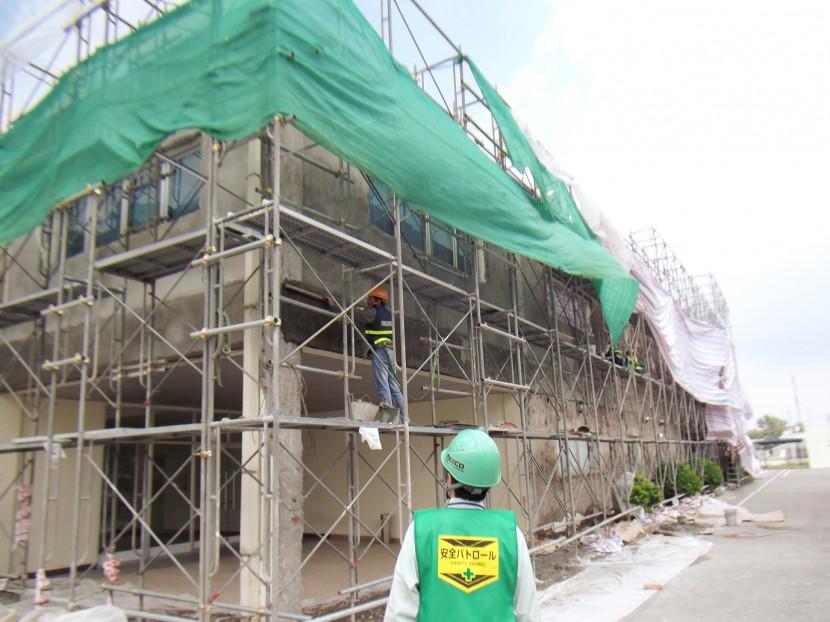 現地工事(安全パトロール) © MESCO 三井金属エンジニアリング株式会社