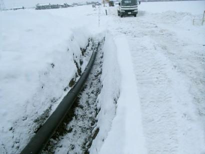 北海道農水埋設配管工事B1