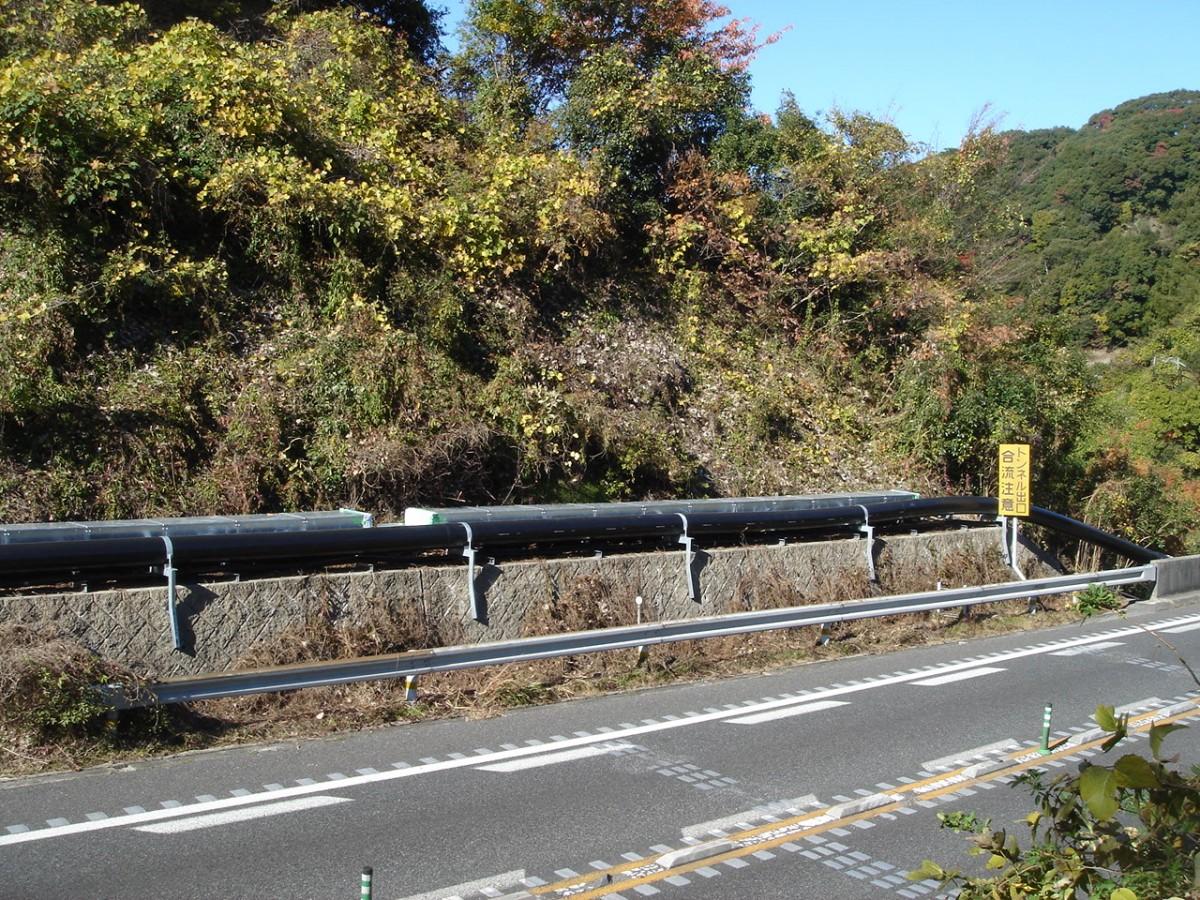 和歌山県消火法面添架1 © MESCO 三井金属エンジニアリング株式会社