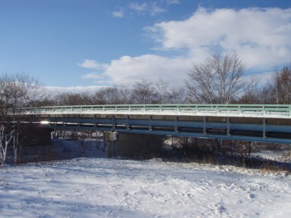 北海道上水橋梁添架配管工事1