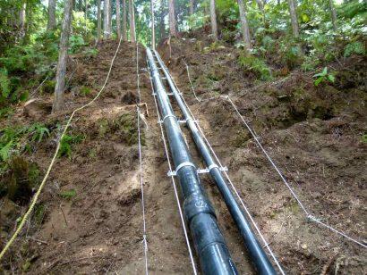 安田町中山間簡易水道施設整備工事