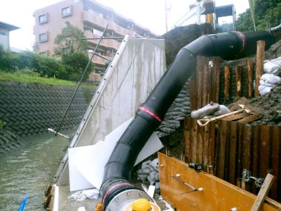 宮崎市水流川取水設備送水管