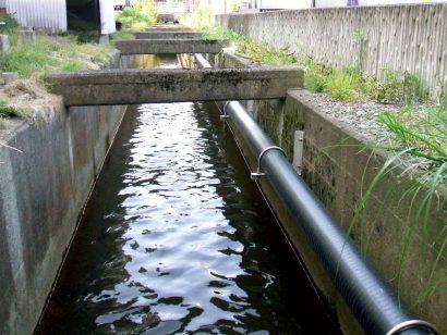 会津坂下町都市下水路