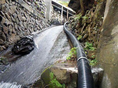 中之条温泉配管